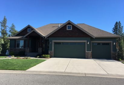 Spokane Painting Contractor Exterior House pic