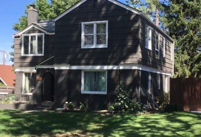 Exterior house painting in Liberty Lake Washington
