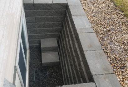 Egress window construction in Spokane, WA